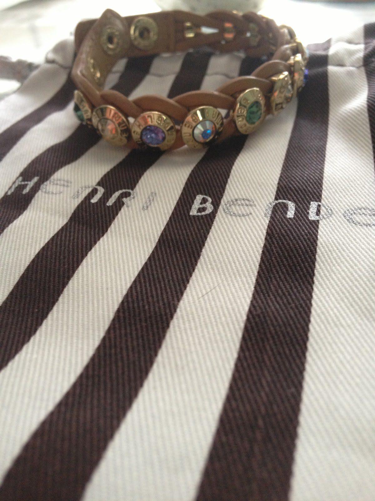 Henri Bendel Brown Rivet Wrap Bracelet Simply Stine Atlanta